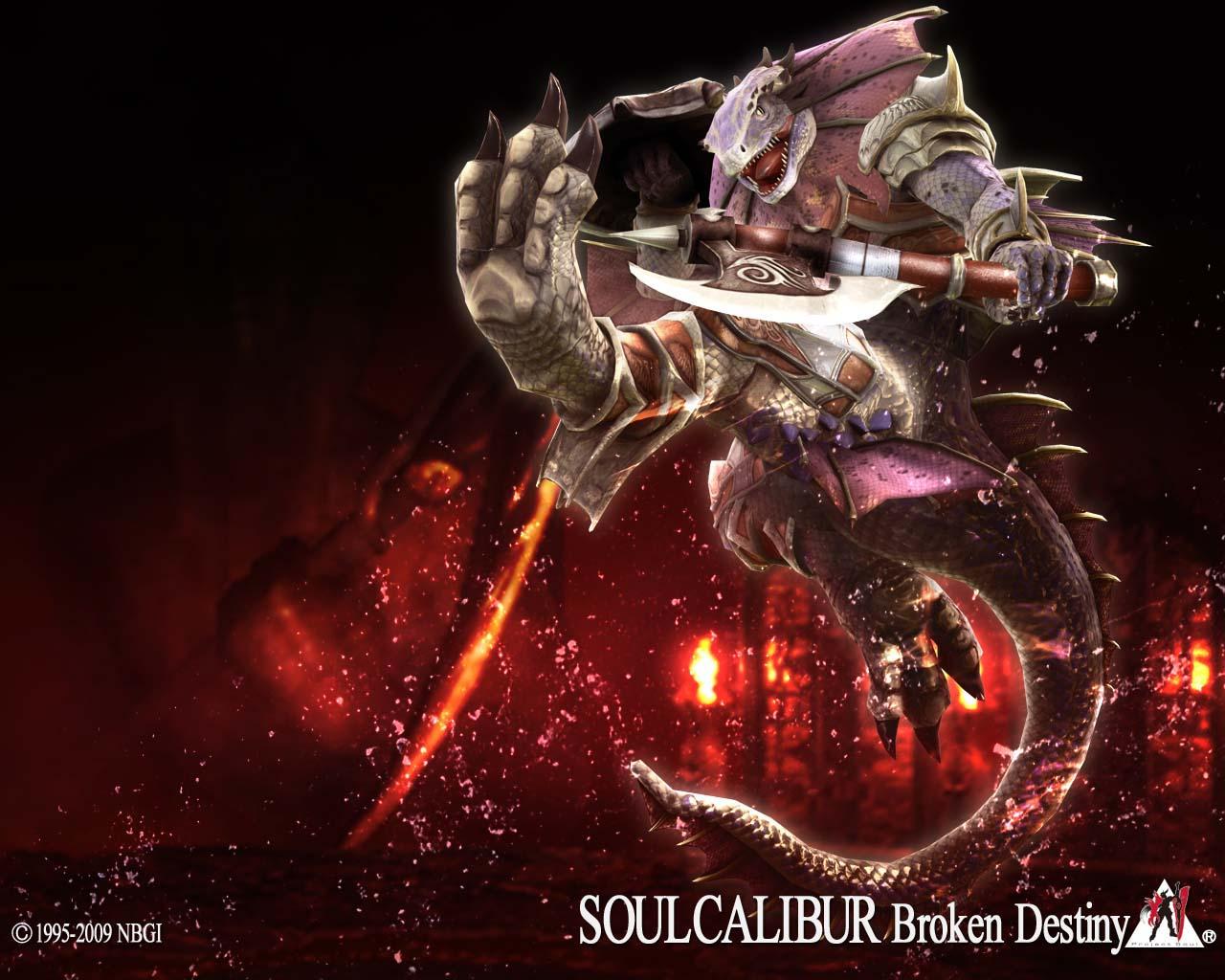 Image soul calibur broken destiny lizardman wallpaper - Soul calibur wallpaper ...