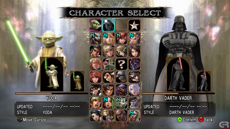 Soul Calibur IV Story Mode Yoda - YouTube