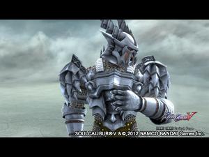 SOULCALIBUR Ⅴ Levithan Armor Parts