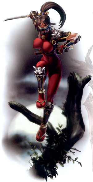 Soul Calibur Legends Taki