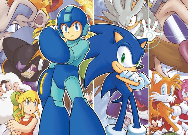 File:Mega Man and Sonic.jpg