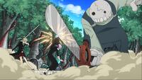 Episode 26 - Ragnarok and Crona save Maka from Giriko and Oldest Golemn