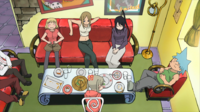 Soul Eater Episode 12 HD - Get Together at Maka and Soul's Apartment