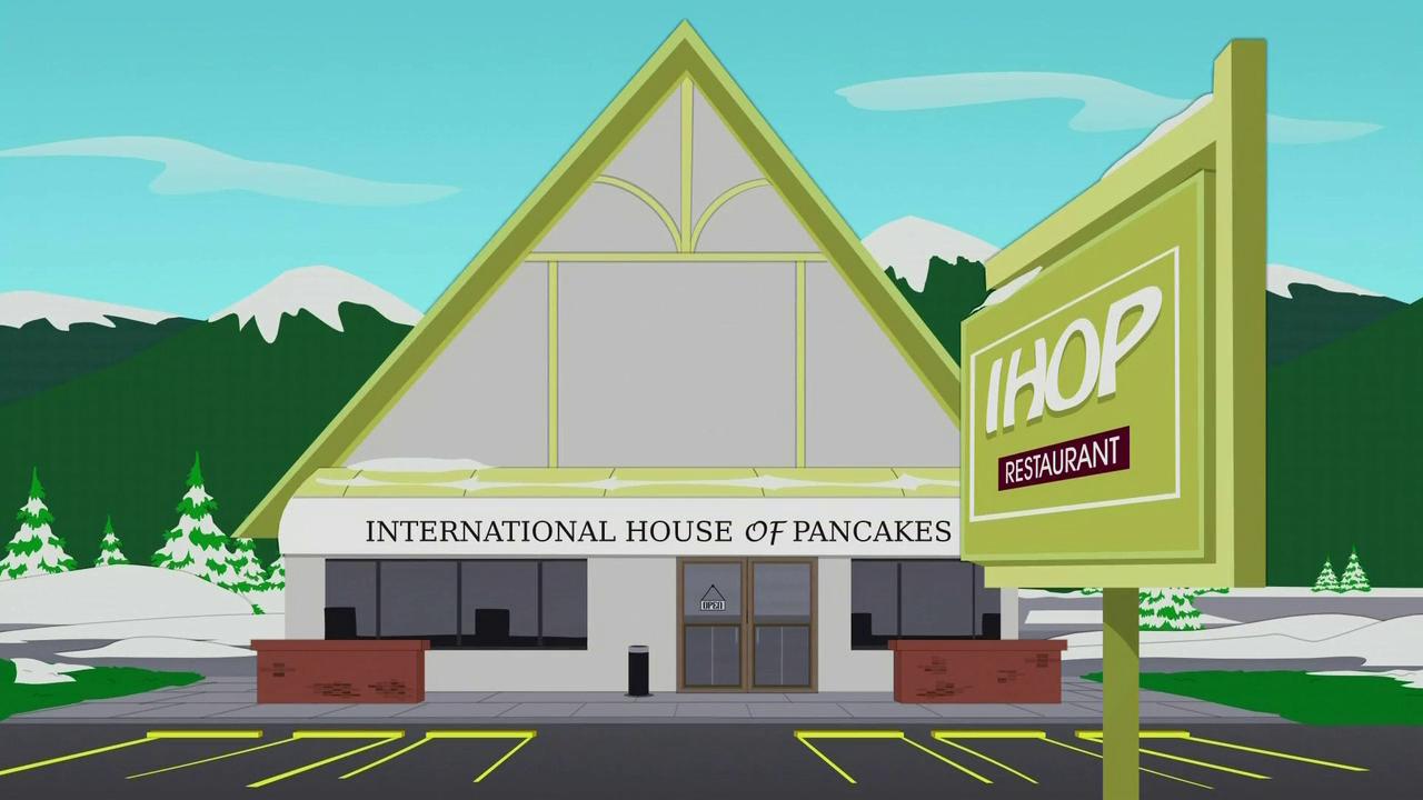 R Nine T >> International House of Pancakes   South Park Archives ...
