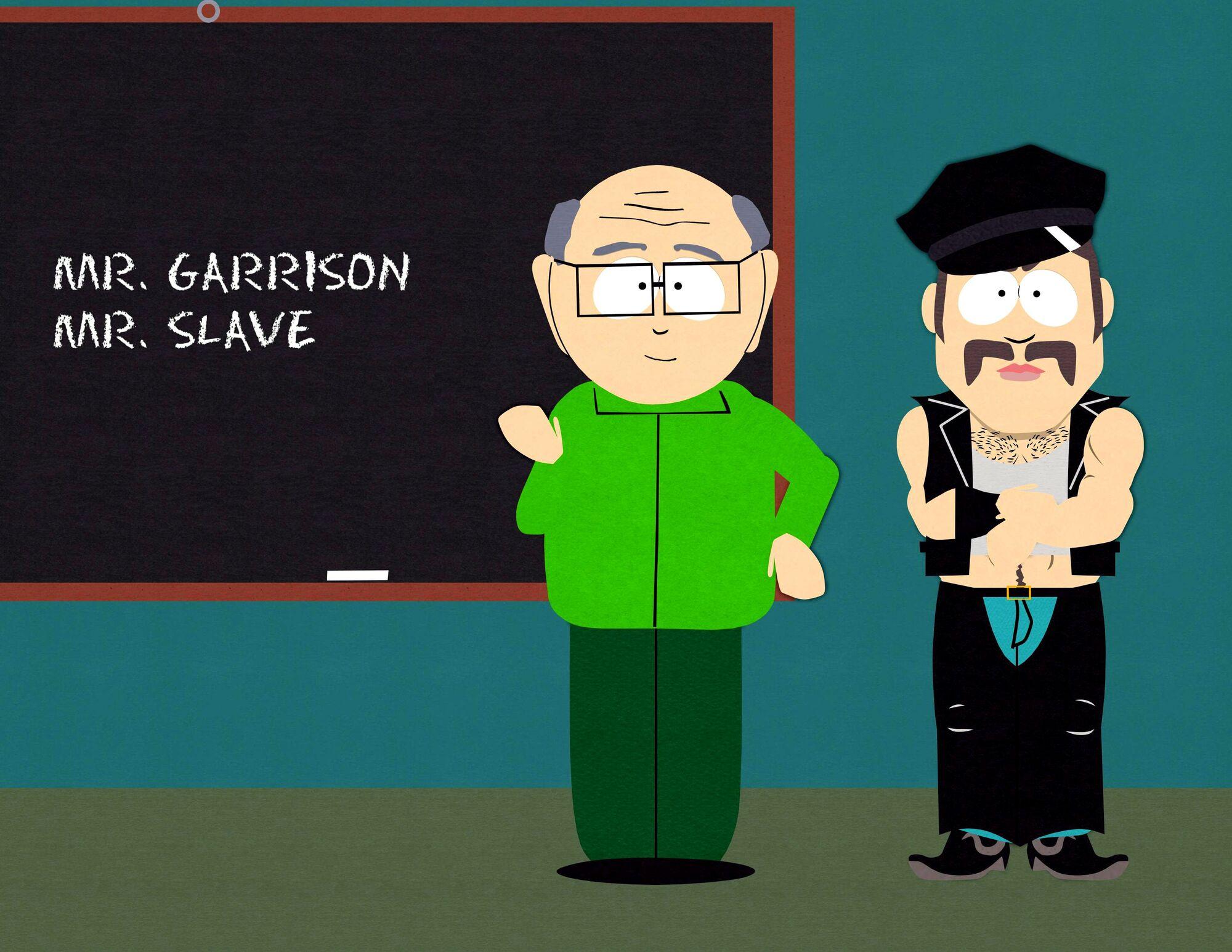 from Avi mr garrison gay