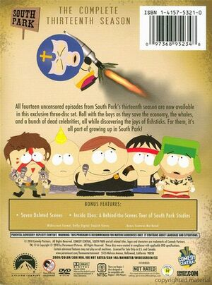 South Park Season 13 - Back