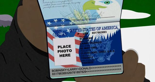 File:Douchebag's Fake Passport.jpg