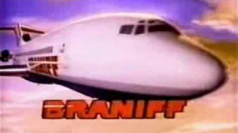 The Braniff card.