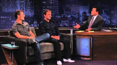 Trey Parker & Matt Stone on Jimmy Kimmel Live PART 2