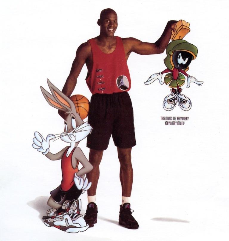Michael Jordan / Bugs ... Bugs Bunny 8s Outfit