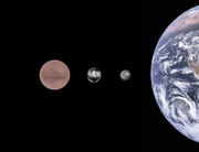 Three proposed planets