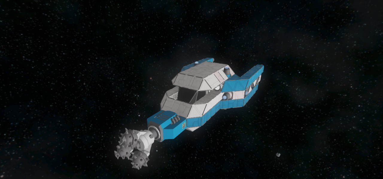 Small drill ship space engineers wiki fandom powered by wikia - Small reactor space engineers gallery ...