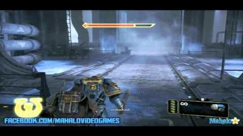 Warhammer Space Marine - Walkthrough - The Inquisitor - Chapter 6 Lair of Giants 2