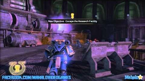 Warhammer Space Marine - Walkthrough - The Weapon - Chapter 11 Point of No Return 1