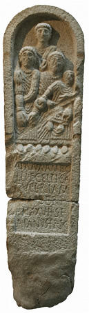 Galician Celtic Stele - Estela Galaica