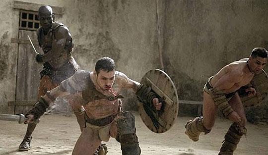Spartacus Crixus Theokoles Crixus to Face Theokoles