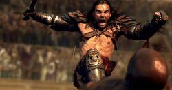 !!!Dustin-Clare-as-Gannicus-SpartacusVengeance-Libertus
