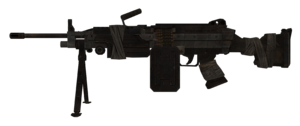 M249 SAW model