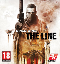 Spec Ops-The Line European cover art