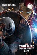 Captain America Civil War (2016) Poster - Team Iron Man