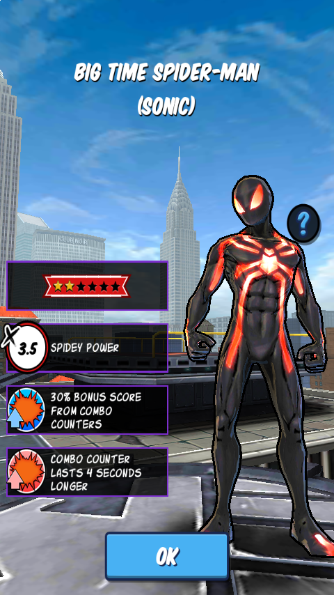 Big time spider man sonic spider man unlimited mobile game wikia