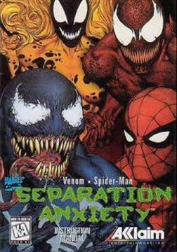 Spider-Man and Venom - Separation Anxiety Coverart