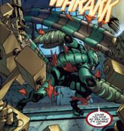 Gargan's New Scorpion Suit