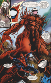 Carnage as a giant
