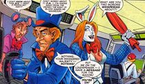 The White Rabbit, The Mad Hatter and the Doormouse