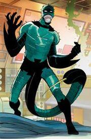 Gargan as Scorpion with the Venom Symbiote