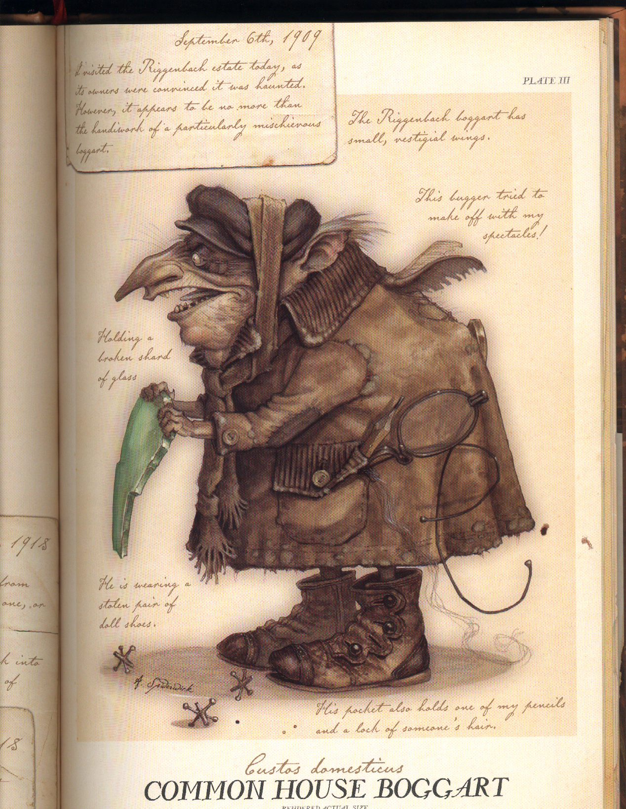 The Boggart is a folklore creature