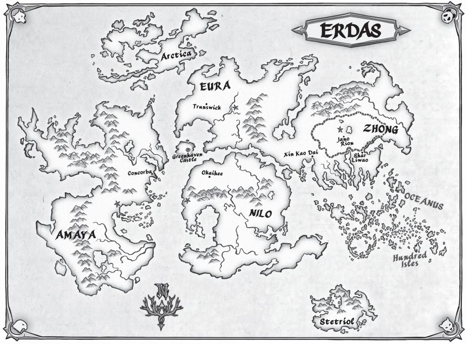 Resultado de imagen de erdas mapa spirit animals