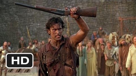 This Is My Boomstick! Scene - Army of Darkness Movie (1992) - HD