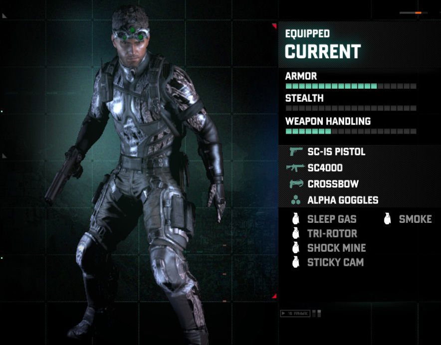 Loadout Splinter Cell Wiki Fandom Powered By Wikia