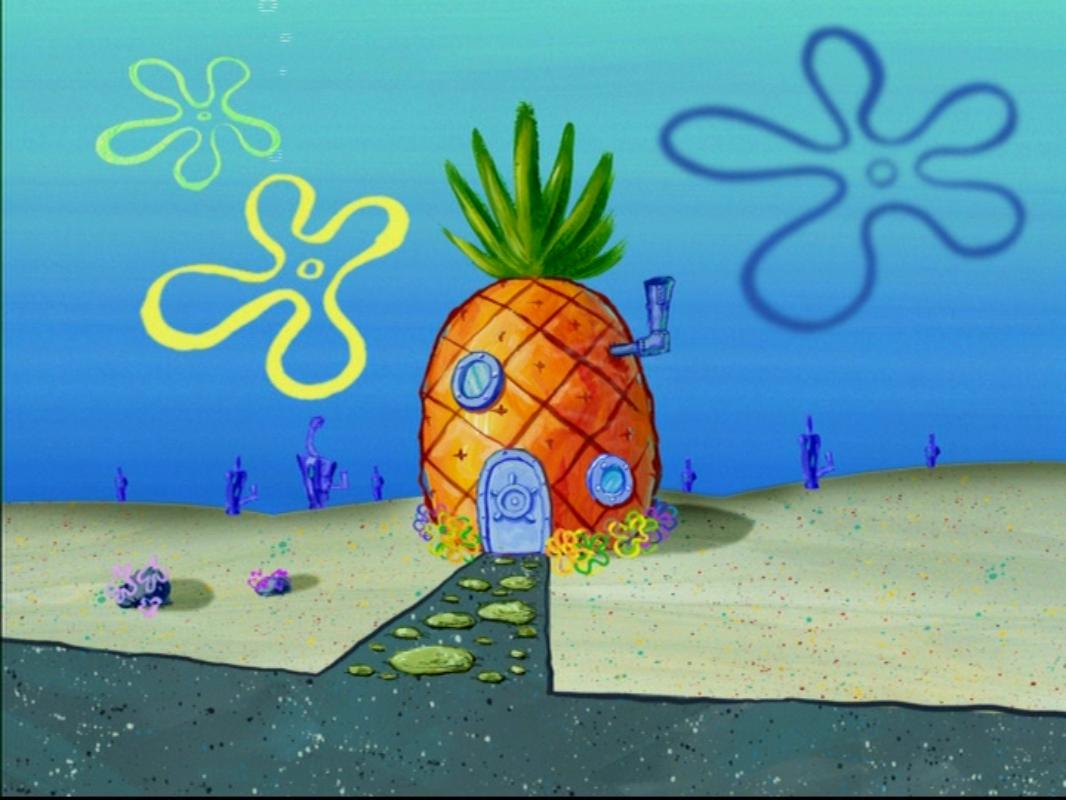 Dom Spongeboba Spongebob Wiki Fandom Powered By Wikia