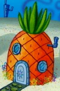 SpongeBob's pineapple house in Season 5-3