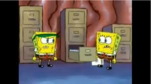 Spongebobs brain office