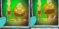 Mermaid Man & Barnacle Boy Trading Card No. 54