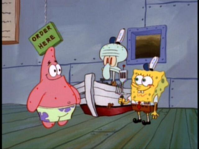 File:SpongeBob,SquidwardandPatrickinHelpWanted.jpg