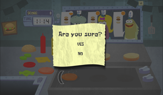 File:SpongeBob, You're Fired! (online game) - Are you sure?.png