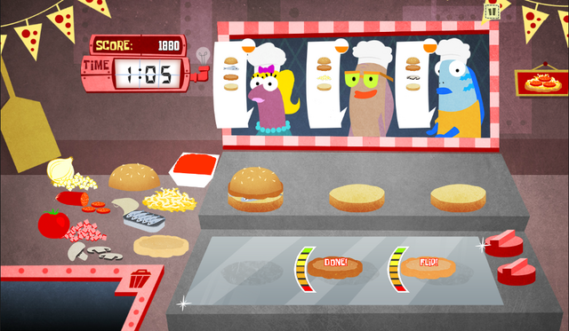 File:SpongeBob, You're Fired! (online game) - Pizza Piehole job.png