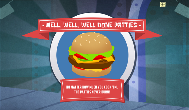 File:SpongeBob, You're Fired! (online game) - Well, well, well done patties.png