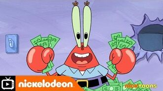 SpongeBob SquarePants Safe Desposit Mr Krabs Nickelodeon UK