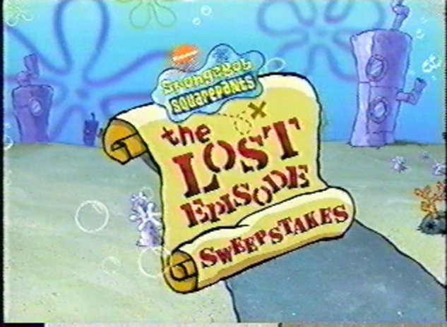 File:SpongeBob SquarePants The Lost Episode sweepstakes.png