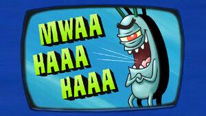 Plankton's Diary Evil Laugh