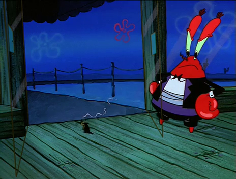 File:Mr. Krabs Letting Plankton Out.png