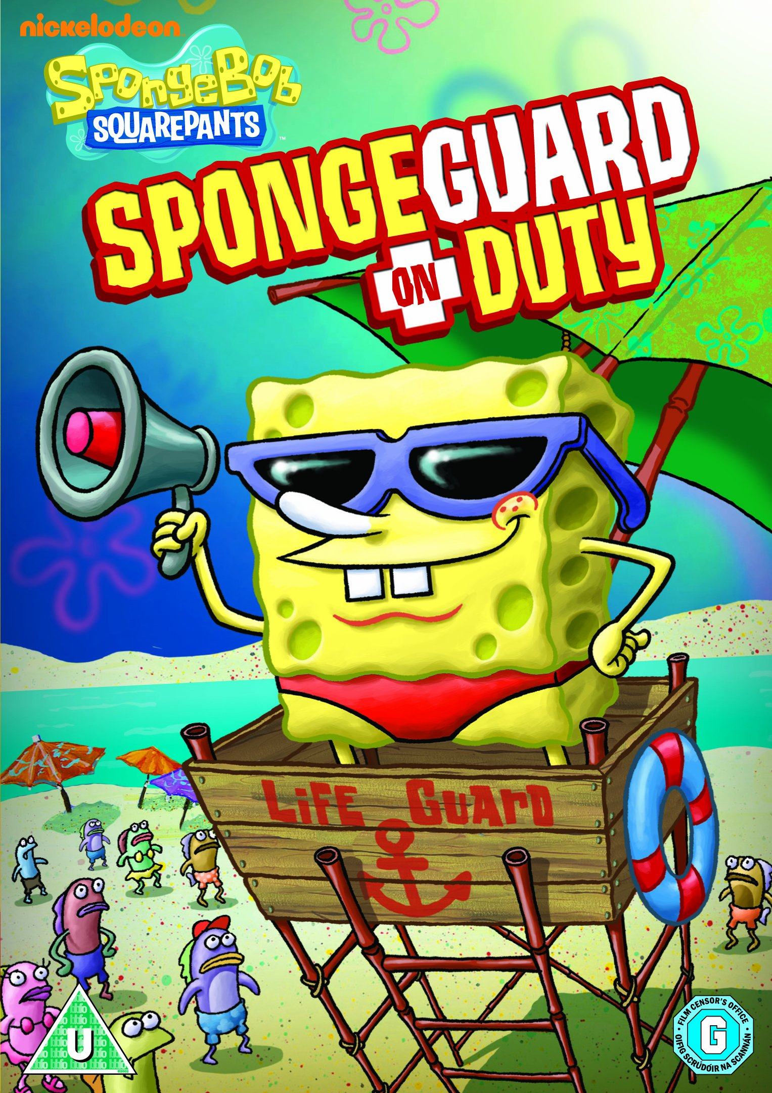 spongeguard on duty dvd encyclopedia spongebobia fandom