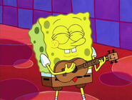 SpongeBob's Ukulele in Smoothe Jazz at Bikini Bottom