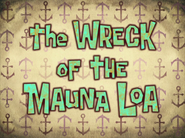 The Wreck of the Mauna Loa