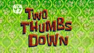 Twothumbsdown